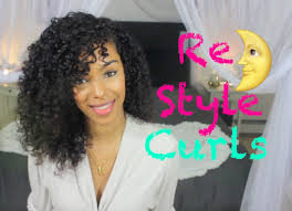 Second Day Curly Hairstyles Re Style Curly Hair The Next Day 3 4 Sleep Method Sunkissalba