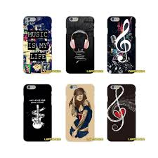 Music Style Phone Cases For Samsung Galaxy S5 S6 S7 edge S8 S9 Plus Note 5
