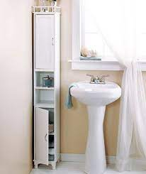 65 Slim Storage Cabinet Small Bathroom Storage Bathroom Storage Cabinet