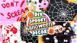diy halloween decorations diy room decor for halloween youtube