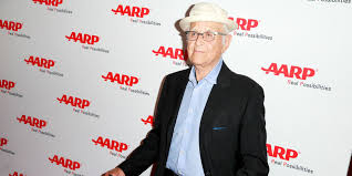 norman lear at aarp tv for grownups honors at sunset tower on july 24 2018
