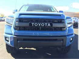 Anyone have a 2018 Calvary blue tundra? | Toyota Tundra Forum