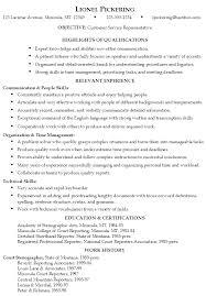 Example Resume  Resume Customer Service Sample  resume customer