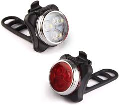 Usb Bicycle Light Set Ascher Usb Rechargeable Bike Light Set Super Bright Front Headlight And Rear Led Bicycle Light 650mah Lithium Battery 4 Light Mode Options 2 Usb