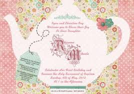 Tea Invitations Printable Printable Tea Party Invitations Tea Party Invitation Template