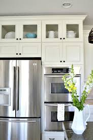 how to install glass into your kitchen cabinets