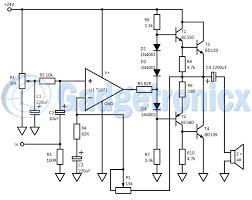 Building a Class B Amplifier circuit - Gadgetronicx