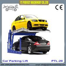 Car Parking Lift Design Us 2500 0 Car Parking Lift Tilting Type Plt 250 For Home Garage On Aliexpress