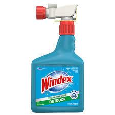 windex 32 fl oz blue bottle outdoor sprayer