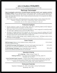 Radiologic Technologist Resume Examples Awesome Ophthalmic Technician Rad Tech Resume Template Radiologic