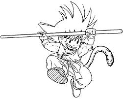Disegni Da Colorare Tema Dragon Ball Migliori Pagine Da Colorare