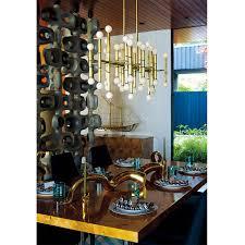 dining room chandelier brass. Meurice Rectangle Chandelier - Alt Image 3 Dining Room Brass B