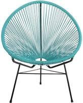 design tree home. design tree home acapulco lounge chair, blue
