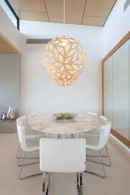 kitchen table lighting dining room modern. Brisbane Wooden Chess Table With Contemporary Pendant Lights Dining Room Modern And Laser Cut Metal Vase Kitchen Lighting
