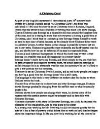a christmas carol summary of theme and narrative gcse english   charles dickens · a christmas carol page 1 zoom in