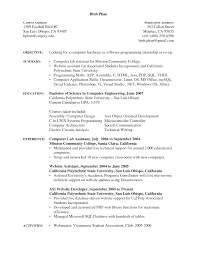 machine maintenance resume