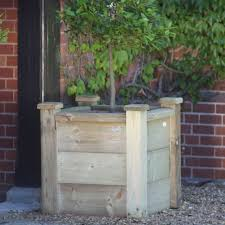 cedar planter box home depot wooden planters wooden block planters