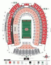 Hobart Arena Concert Seating Chart Ohio Stadium Seating Chart Seating Chart