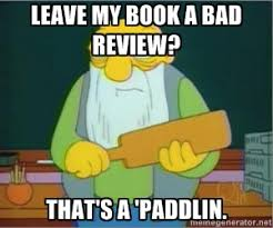 Image result for bad book reviews