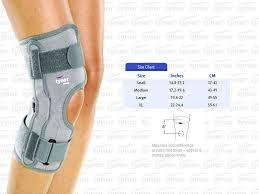 Functional Knee Brace Support Hinged Knee Cap Sports Acl