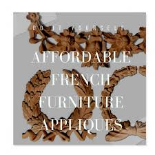 appliques for furniture. appliques for furniture