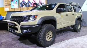 Chevy Colorado Concepts Built for Overlanding, Desert Racing at ...
