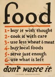 Captivating Food Donu0027t Waste It   Vintage Poster From WW1 Https://www
