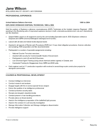 Fbi Resume Template Resume Fbi Resume 37