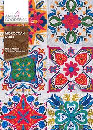 Moroccan Quilt   Anita Goodesign &  Adamdwight.com
