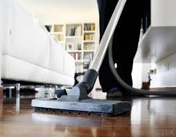 wood floors can be dry mopped swept and vacuumed