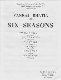 six seasons satb