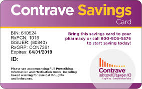 contrave savings card front contrave
