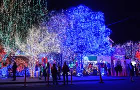 Vasona Holiday Lights Holiday Lights 15 Spectacular Bay Area Displays