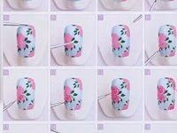 Уроки нейл арта: лучшие изображения (108) в 2020 г. | Нейл арт ...