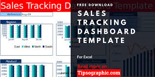 Tracking Sales In Excel Sales Tracking Dashboard Template For Excel Free Download