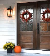 glass double door exterior. Doors, French Front Doors Exterior Fiberglass Dark Wood Door With Textured Glass Panel Double