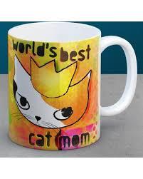 Amazing Cat Mom Mug, Best Cat Mom Ever, Unique And Artistic Coffee Mug With Calico