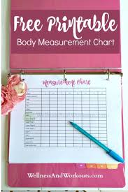 T Tapp Measurement Chart Free Printable Body Measurement Chart Pins For Today