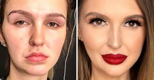 s share their before and after makeup pictures some of them look like pletely diffe people