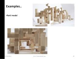 architecture design concept. \u2022Parti Model 10/16/2016 18Arch. Architecture Design Concept