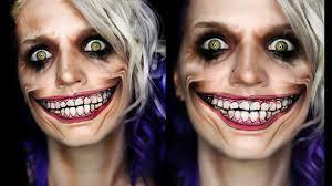 joker smile makeup tutorial