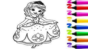 Coloriage De Princesse Sofia Dessin Facile Colorier Coloriage