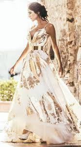 gold and white wedding dress rosaurasandoval com
