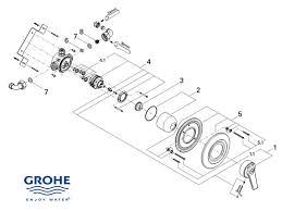 shower spares for grohe avensys manual 33399 ip0 hansgrohe 96633000 thermostatic cartridge