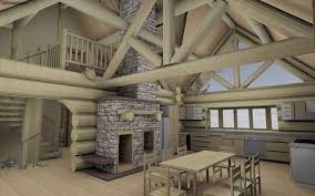 Free Online Interior Design Tool With Traditional The Log Home ...