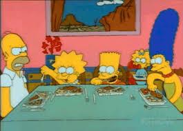 Kuvahaun tulos haulle homer simpson dinner