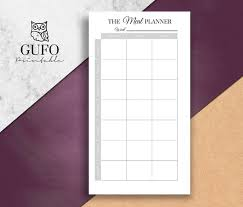 personal diet planner personal meal planner printable weekly meal planning filofax etsy
