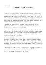 Statement Of Purpose Graduate School Sample Essays Newskey