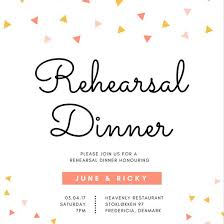 Free Dinner Invitation Templates Printable Extraordinary Customize 48 Rehearsal Dinner Invitation Templates Online Canva