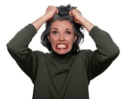 Image result for person tearing their hair out